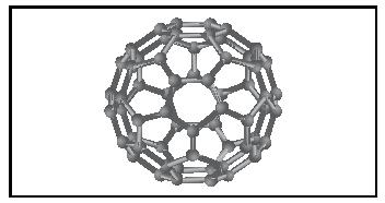 Figure 4. A fullerene allotrope of C60.