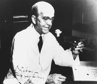 American bacteriologist Oswald Avery, who demonstrated that DNA is the unit of genetic inheritance.