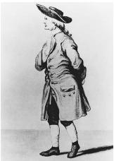 English chemist and physicist Henry Cavendish, who discovered hydrogen.
