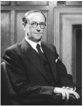 "English physicist, Sir James Chadwick, recipient of the 1935 Nobel Prize in physics, ""for the discovery of the neutron."""