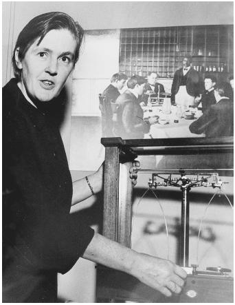 Pharmacologist Frances Oldham Kelsey, who rejected the use of the sedative thalidomide in the United States.