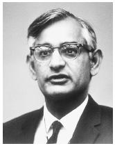"American chemist Har Gobind Khorana, corecipient, with Robert W. Holley and Marshall W. Nirenberg, of the 1968 Nobel Prize in physiology or medicine, ""for their interpretation of the genetic code and its function in protein synthesis."""
