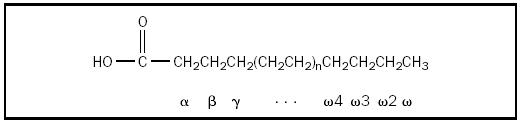 Figure 1. Generic fatty acid.