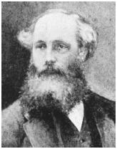 Scottish physicist James Clerk Maxwell, who identified light as an electromagnetic wave.