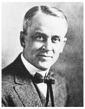 "American physicist Robert Millikan, recipient of the 1923 Nobel Prize in physics, ""for his work on the elementary charge of electricity and on the photoelectric effect."""