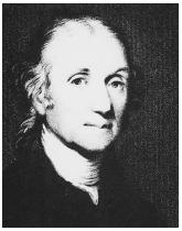 English chemist Joseph Priestley, the first person to isolate a number of gases, including oxygen.