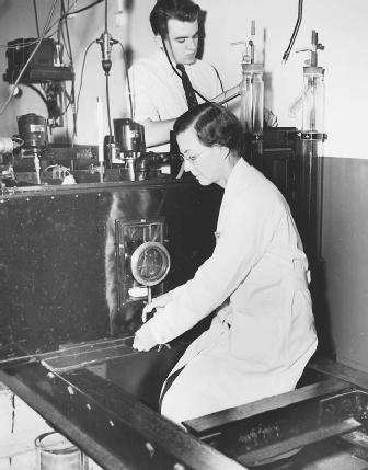 American biochemist Florence Seibert, who developed the procedure that isolated the crystalline tuberculin derivative, which is used in the standard TB test.