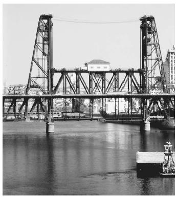 A steel bridge in Portland, Oregon. Steel's strength and resistance to corrosion make it an alloy useful for many purposes.