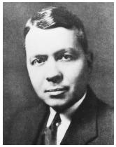 "American chemist Harold Clayton Urey, recipient of the 1934 Nobel Prize in chemistry, ""for his discovery of heavy hydrogen."""