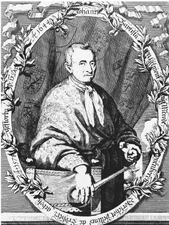 Flemish physician and chemist Johann van Helmont, the first person to distinguish gas from atmospheric air.