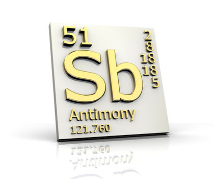 Antimony chemical element reaction water uses elements metal antimony urtaz Gallery