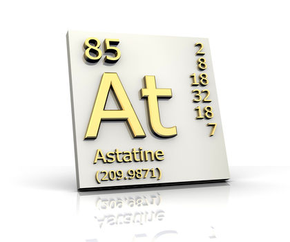 Astatine Chemical Element Uses Elements Metal Number Name