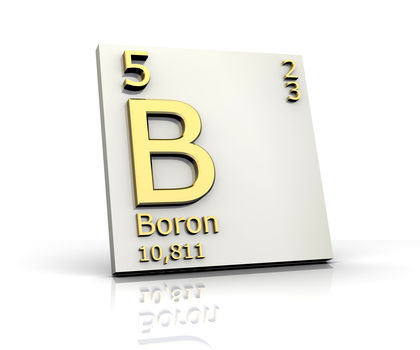 Boron Chemical Element Structure Reaction Water Uses Elements