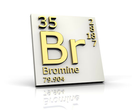 Bromine Chemical Element Reaction Water Uses