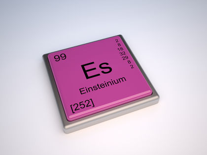Einsteinium Chemical Element Uses Elements Number Name Symbol