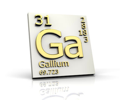 Gallium Chemical Element Uses Elements Examples Metal Number