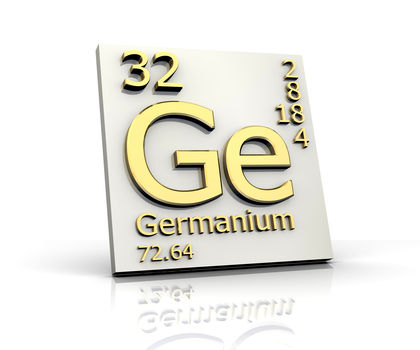 Germanium Chemical Element Reaction Water Uses Elements Metal