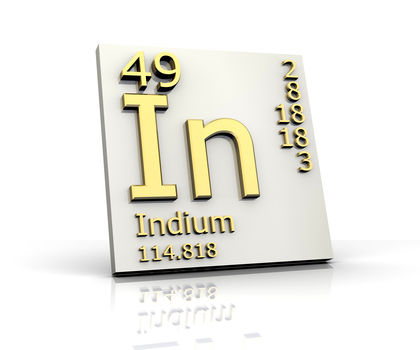 Indium Chemical Element Uses Elements Metal Gas Number Name