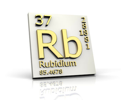 Rubidium Chemical Element Water Uses Elements Metal Gas