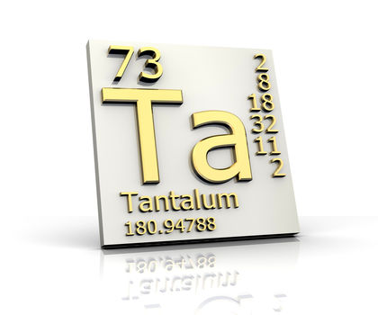 Tantalum Chemical Element Water Uses Elements Metal Gas