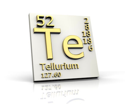 Tellurium Chemical Element Reaction Water Uses Elements