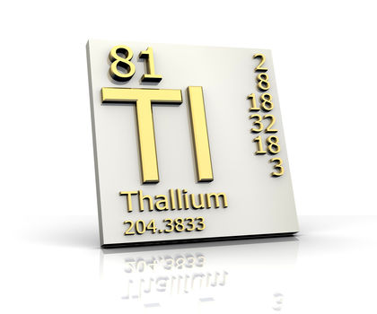 Thallium chemical element uses elements metal number name thallium urtaz Choice Image