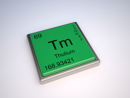 Thulium Chemical Element Water Uses Elements Metal Number