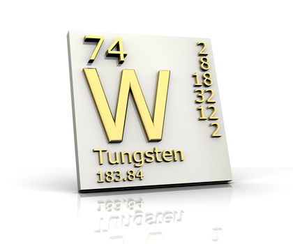 Tungsten Chemical Element Uses Elements Metal Gas Number