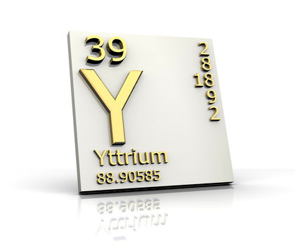 Yttrium Chemical Element Water Uses Elements Metal Number