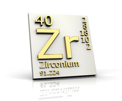 Zirconium Chemical Element Reaction Water Uses Elements Metal